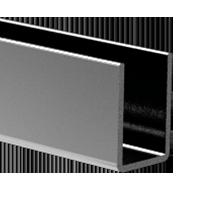 Perfiles U de aluminio y acero